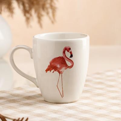 "Кружка ""Фламинго"", 0.32 л - Фото 1"