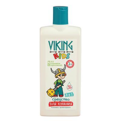 Средство для купания Viking Kids 3 в 1, 300 мл - Фото 1