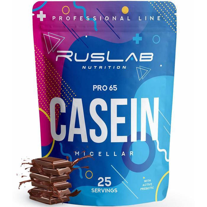 Белковый коктейль CASEIN PRO 65 шоколад, 800 г