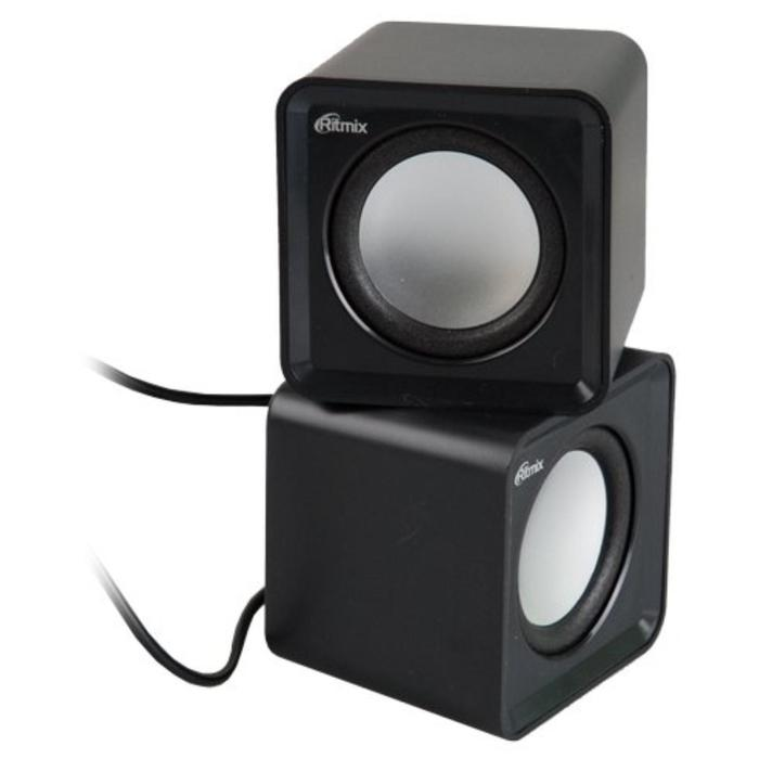 Компьтерные колонки RITMIX SP-2020, 5 Вт, USB, черные