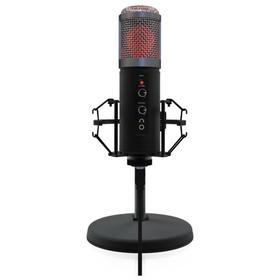 Микрофон RITMIX RDM-260, 30-18000 Гц, USB, 1.8 м, черный Ош