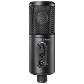 Микрофон AUDIO-TECHNICA ATR2500x-USB, 30–15000 Гц, USB, Type-C, 2 м, черный Ош