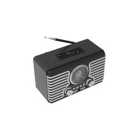 Радиоприемник RITMIX RPR-095, 220 В, Вт. IEC, USB, Jack 3.5, microSD, серебристый Ош