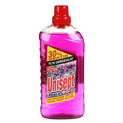 Чистящее средство Unisept для мытья полов, сирень 1 л - Фото 1