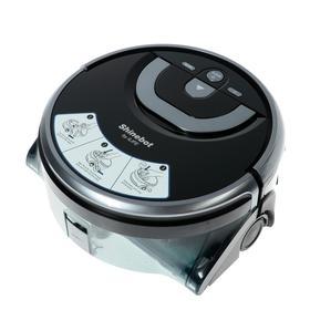 Робот-пылесос ILIFE W400, 24 Вт, влажная уборка, 0.9/0.85 л, чёрно-серый