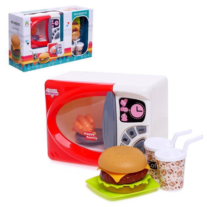 Бытовая техника «Микроволновая печь» с продуктами питания