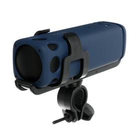 Портативная колонка для велосипеда SK1007YW, фонарик, microSD/USB, BT, 3Вт, 4000мАч, синяя