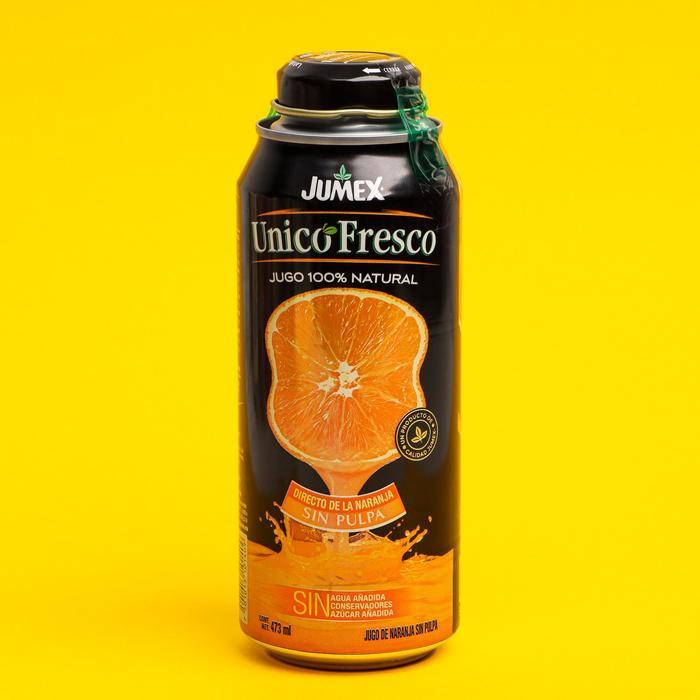 Cок прямого отжима Jumex, Апельсин без мякоти, 473 мл