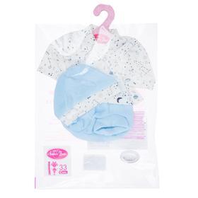 Комплект одежды (шапочка вязаная, голубая), для кукол высотой 33 см
