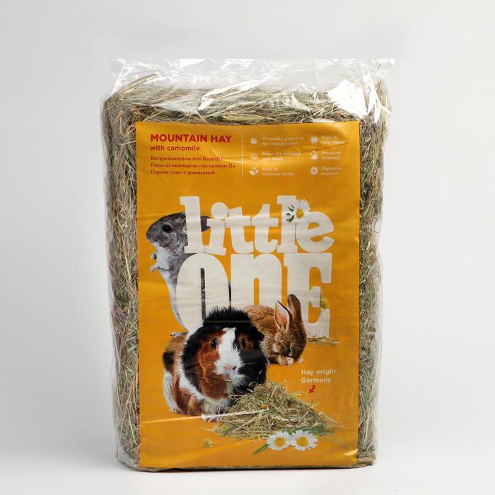 Горное сено Little One с ромашкой, непрессованное, 400 г