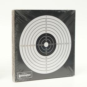 Мишень Remington черно-белая Ош