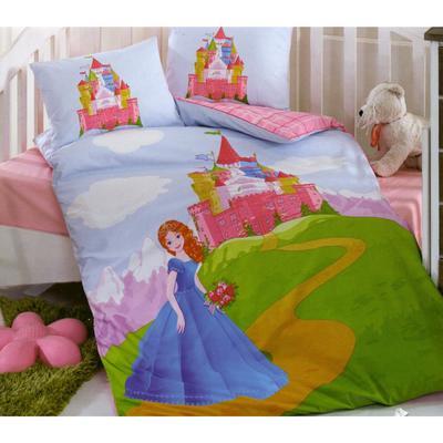 КПБ детское Cinderella, размер 100 х 160 см, 100 х 150 см, 35 х 45 см - Фото 1