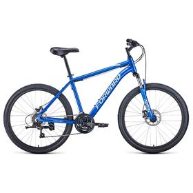 "Велосипед 26"" Forward Hardi 2.1 disc, 2021, цвет синий/бежевый, размер 18"""