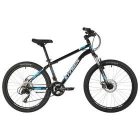 """Велосипед 24"""" Stinger Caiman D, 2021, цвет чёрный, размер 12"""""""