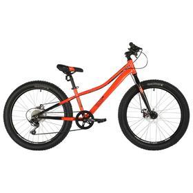 """Велосипед 20"""" Novatrack Dozer STD, 2021, цвет оранжевый, размер 12"""""""