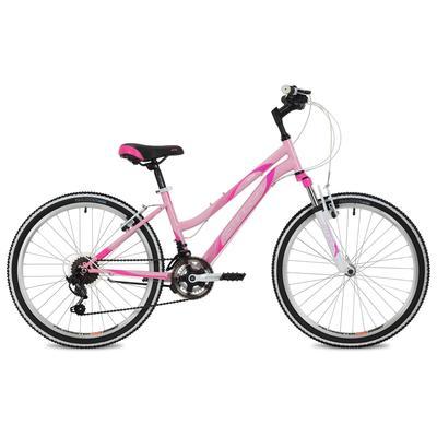 """Велосипед 24"""" Stinger Latina, 2021, цвет розовый, размер 12"""" - Фото 1"""