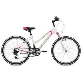 """Велосипед 24"""" Stinger Latina, цвет белый, размер 12"""""""