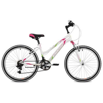 """Велосипед 24"""" Stinger Latina, цвет белый, размер 12"""" - Фото 1"""