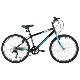 Велосипед 24' Foxx Mango, цвет черный, размер 12' Ош