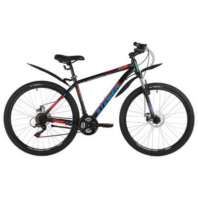 """Велосипед 27,5"""" Stinger Caiman D, цвет черный, размер 18"""" - Фото 1"""
