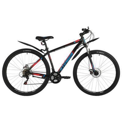 """Велосипед 29"""" Stinger Caiman D, цвет черный, размер 18"""" - Фото 1"""
