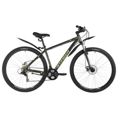 """Велосипед 29"""" Stinger Caiman D, цвет зеленый, размер 18"""" - Фото 1"""