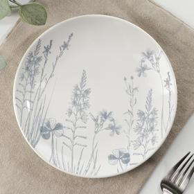 Тарелка «Гербарий травы», d=18,5 см