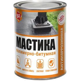 Мастика полимерно-битумнаяВИТ 0,8кг ж/банка Ош