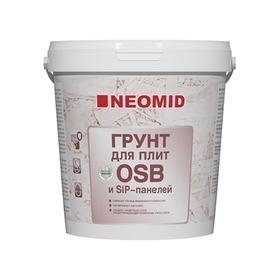 Грунт для плит OSB NEOMID Proff готовый ведро 1кг Ош
