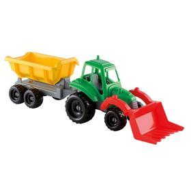 Детский набор «Трактор с прицепом», 52 см
