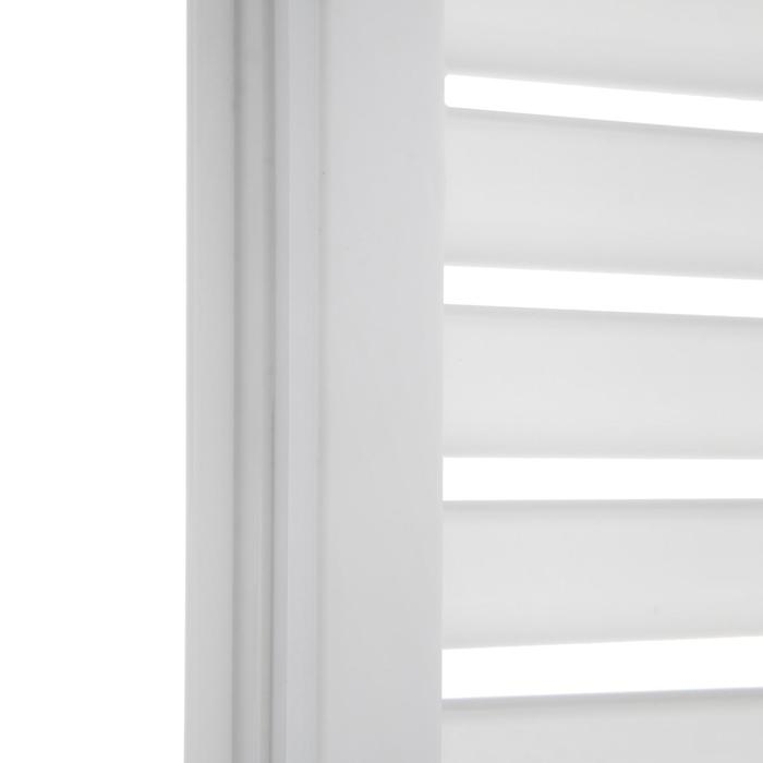Решетка радиаторная ПВХ, 600 х 300 мм, белая