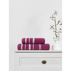 Полотенце махровое Cotton Line 50x90 см, цвет сиреневый