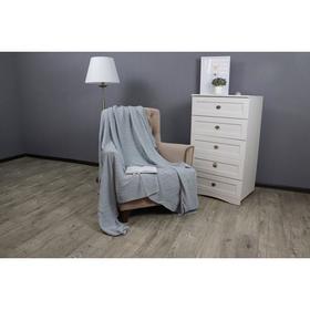 Плед вязаный Assai, размер 150x200 см, цвет серый