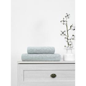 Полотенце махровое Cotton Piramid, размер 50x90 см, цвет серый