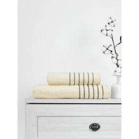 Полотенце махровое Bamboo Marcus, размер 50x90 см, цвет кремовый