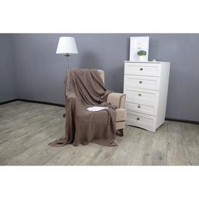 Плед вязаный Assai, размер 180x210 см, цвет кофейный