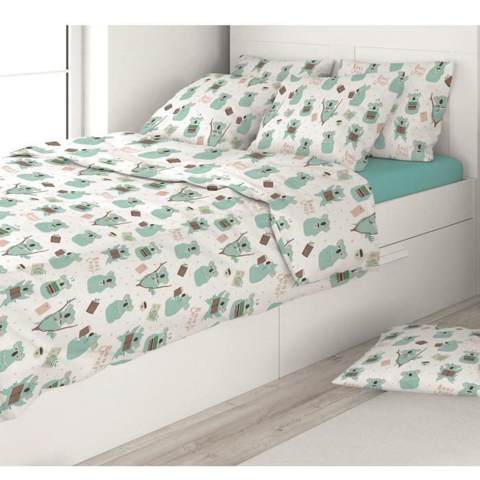 КПБ детское Eco cotton combo Koala 1,5 сп., размер 120x200x20 см, 145x215 см, 50x70 см -1 шт   71005