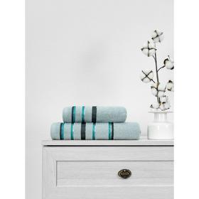 Полотенце махровое Cotton Line, размер 50x90 см, цвет серый