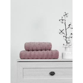 Полотенце махровое Nero, размер 50x90 см, цвет розовая пудра