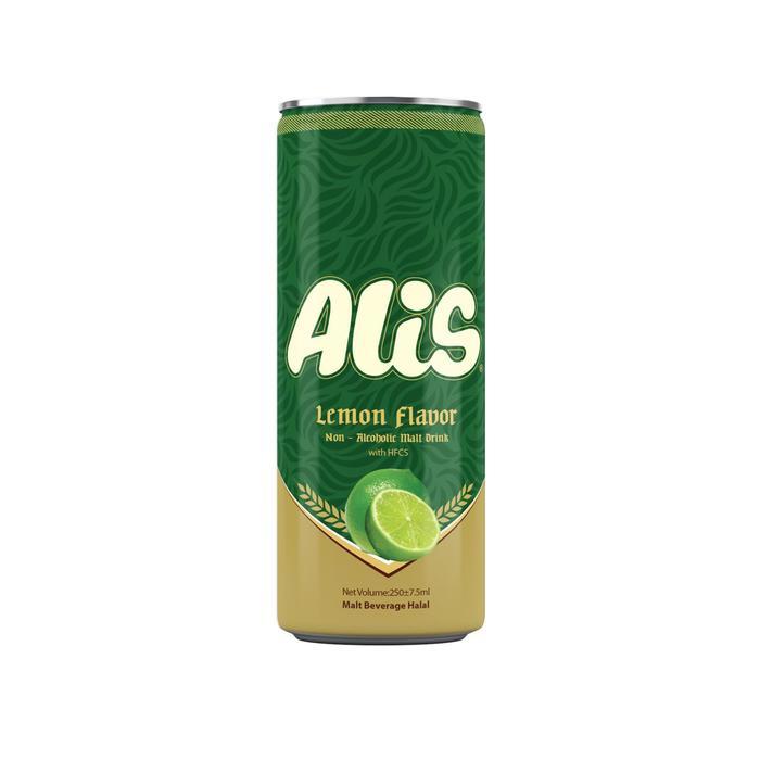Безалкогольный солодовый напиток Alis со вкусом лайма, 240 мл