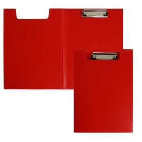 Папка-планшет с зажимом А4 пласт 1.2мм Calligrata красная Ош