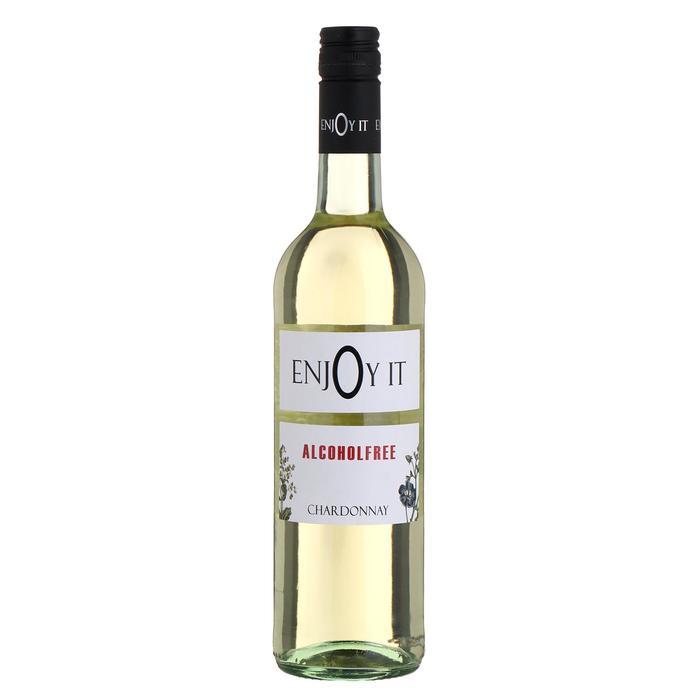 Безалкогольное белое сухое вино Enjoy It Chardonnay, 0,75 л