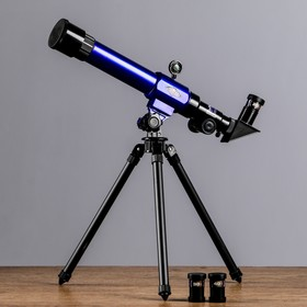 Телескоп настольный х20х30х40, синий Ош