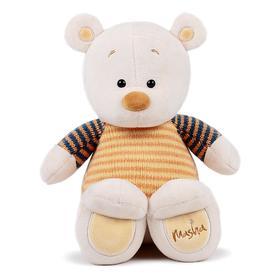 Мягкая игрушка «Медведь Masha» в кофте, 30 см