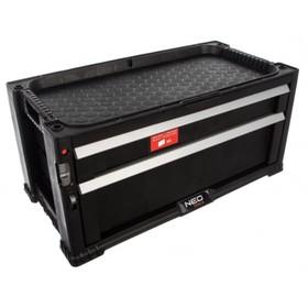 Тележка для инструментов NEO 84-228, 2 выдвижных ящика, 562х289х262 мм Ош