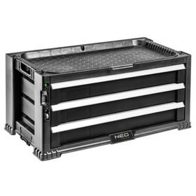 Тележка для инструментов NEO 84-227, 3 выдвижных ящика, 562х289х262 мм Ош