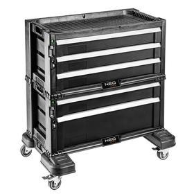 Тележка для инструментов NEO 84-226, 5 выдвижных ящика, 562х289х262 мм Ош