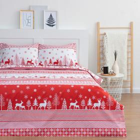 купить Постельное белье LoveLife евро Reindeer 200217см,240225см,5070см-2шт
