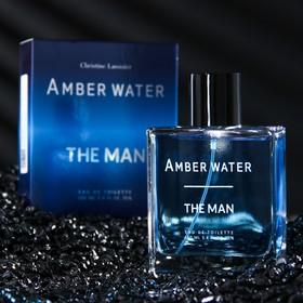 Туалетная вода мужская The Man Amber Water, 100 мл
