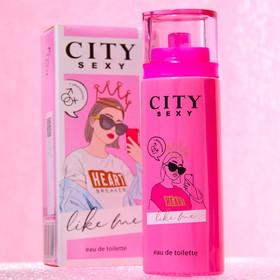 Туалетная вода женская City Sexy Like me, 60 мл